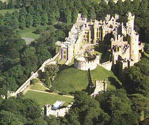 Arundel Castle Restored Norman Castle In England