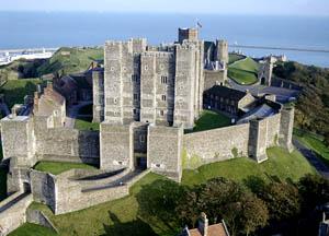 norman castles by region