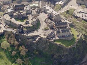 Edinburgh Castle Modernised Royal Castle In Scotland