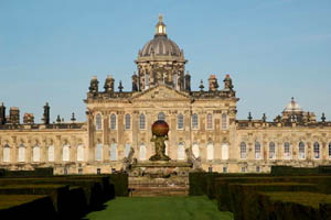Castle Howard Stately Home In England