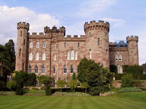 Cholmondeley Castle Pronounced Chumly Is A Mansion House In The Parish Of Cheshire England Built Between 1801 And 1804