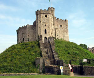 A Classic Motte & Keep at Cardiff Castle