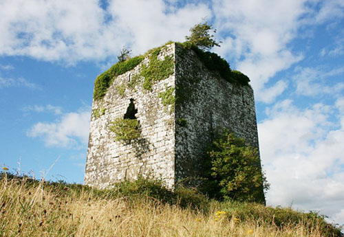 Ballymaquiff Castle, near Labane, Ardrahan, County Galway, Ireland - For sale at € 145,000. - www.castlesandmanorhouses.com
