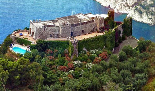 Castiglione Castle, Capri, Italy - offers below 35,000,000 Euros considered - www.castlesandmanorhouses.com