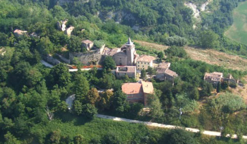 Borgo Di Castelnuovo, Marche Region, Italy - Price available on application - www.castlesandmanorhouses.com