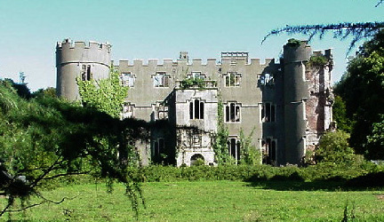 Ruperra Castle, Caerphilly, Wales (a ruin) - For sale at £1,500,000 - www.castlesandmanorhouses.com