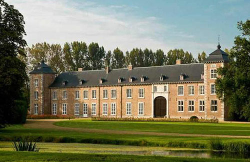 Veulen Castle, Heers, Limburg, Belgium - Price available on application - www.castlesandmanorhouses.com