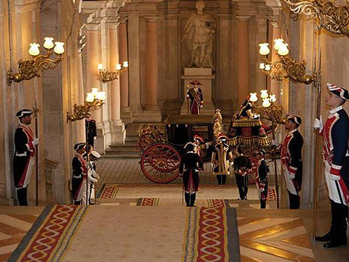 The Palacio Real (Royal Palace), Calle Bailén, s/n, 28071 Madrid, Spain - www.castlesandmanorhouses.com