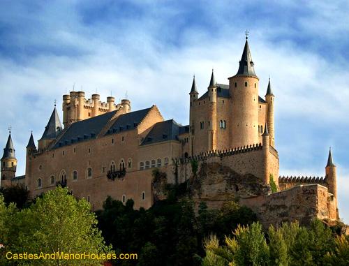 Alcazar, Segovia, Spain - www.castlesandmanorhouses.com