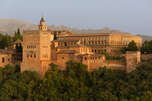 Alhambra Palace, Granada, Andalusia, Spain - www.castlesandmanorhouses.com