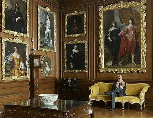 Althorp Gallery, Althorp, Northamptonshire, England - www.castlesandmanorhouses.com