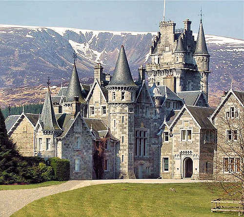 Photographs Of Scottish Castles And Manor Houses
