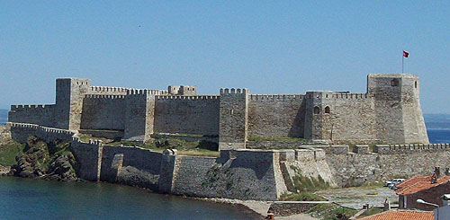 Bozcaada Castle, formerly known as Tenedos, Bozcaada, Bozcaada district, Çanakkale province, Turkey - www.castlesandmanorhouses.com