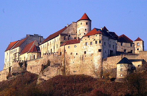 Schloss Burghausen (Burghausen Castle), Altötting district, Oberbayern, Germany. - www.castlesandmanorhouses.com