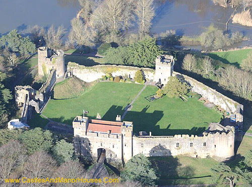 Caldicot Castle (Welsh: Castell Cil-y-coed), Caldicot, Monmouthshire, southeast Wales. - www.castlesandmanorhouses.com