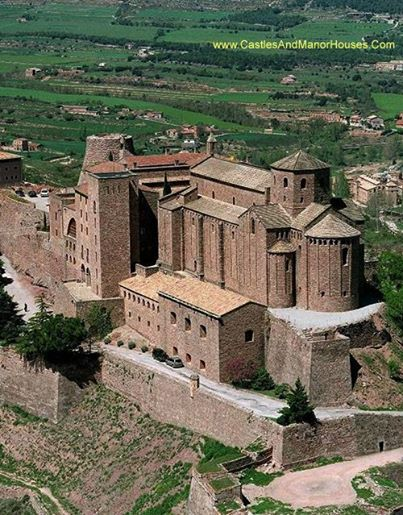 The Castle of Cardona, Cardona, Catalonia, Spain. - www.castlesandmanorhouses.com