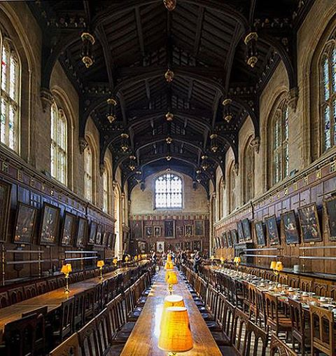 The Hall, Christ Church College, Oxford, England - www.castlesandmanorhouses.com