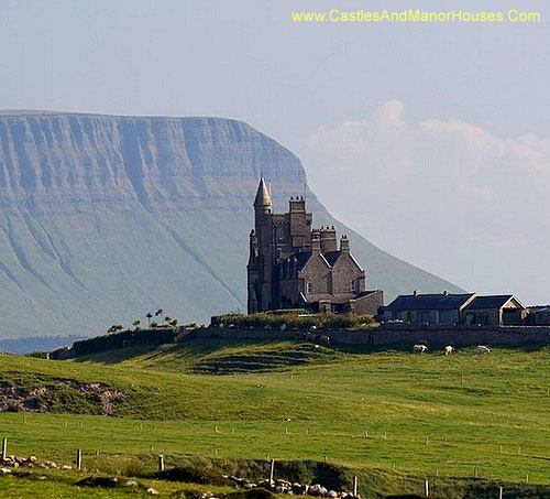 Classiebawn Castle, Mullaghmore peninsula near Cliffoney, County Sligo, in the Republic of Ireland - www.castlesandmanorhouses.com