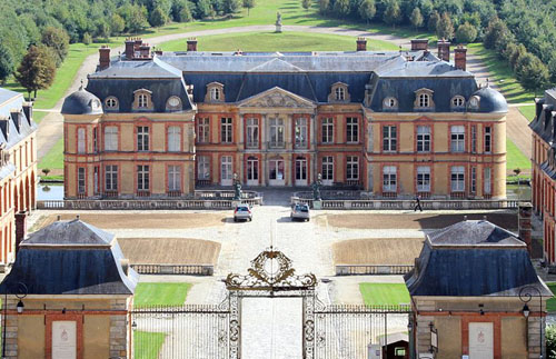 Château de dampierre en yvelines vallée de chevreuse france www