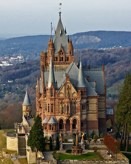 I Want To Visit Germany In German: Photographs Of German Castles And Manor Houses