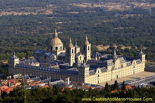 San Lorenzo de El Escorial, northwest of Madrid, Spain - www.castlesandmanorhouses.com