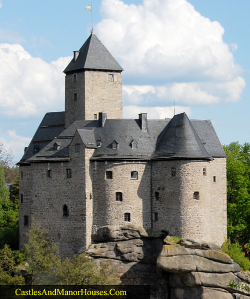Falkenberg Castle (Burg Falkenberg), Falkenberg (district of Tirschenreuth), Upper Palatinate, Bavaria, Germany. - www.castlesandmanorhouses.com