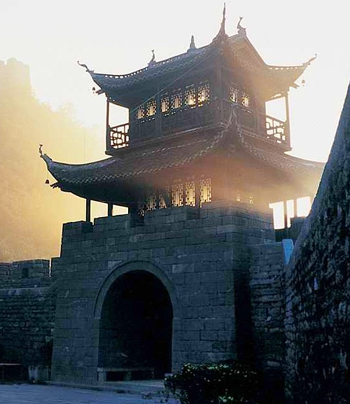 East Gate, Ancient City of Fenghuang, China - www.castlesandmanorhouses.com