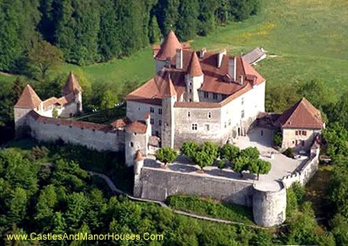 Schloss Greyerz / Château de Gruyères), Rue du Château 8, 1663 Gruyères, Fribourg, Switzerland - www.castlesandmanorhouses.com