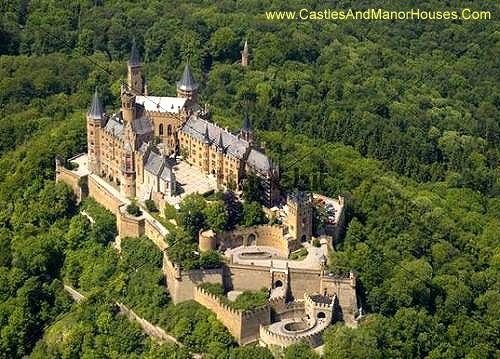 Schloss Hohenzollern, 72379 Burg Hohenzollern, Germany - www.castlesandmanorhouses.com