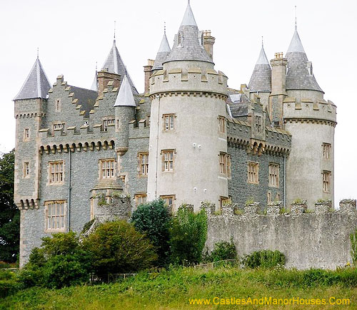 Killyleagh Castle, Killyleagh, County Down, Northern Ireland. - www.castlesandmanorhouses.com