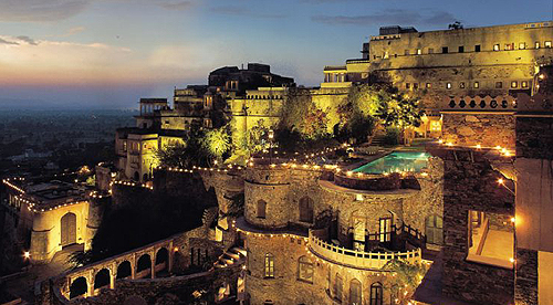 Neemrana Fort-Palace, Delhi-Jaipur Highway, Neemrana, District Alwar, Rajasthan 301705, India - www.castlesandmanorhouses.com