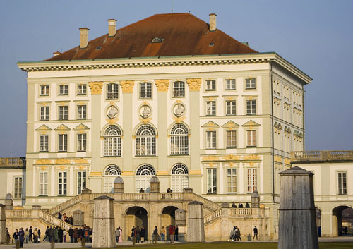 Schloss Nymphenburg, Munich, Bavaria, Germany - www.castlesandmanorhouses.com
