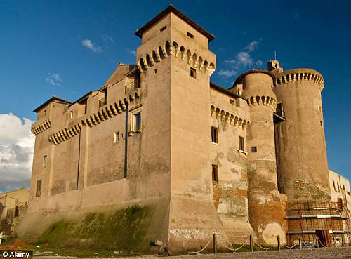 Orsini Castle, Soriano nel Cimino, Viterbo, Lazio, Italy - For sale at € 15 million - www.castlesandmanorhouses.com