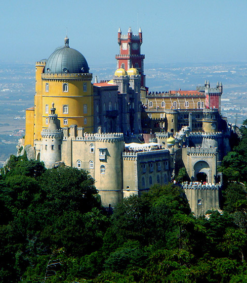 The Pena National Palace, São Pedro de Penaferrim, municipality of Sintra, Portugal. - www.castlesandmanorhouses.com