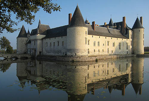 Château du Plessis-Bourré is situated in the commune of Écuillé in the Maine-et-Loire department, France. - www.castlesandmanorhouses.com