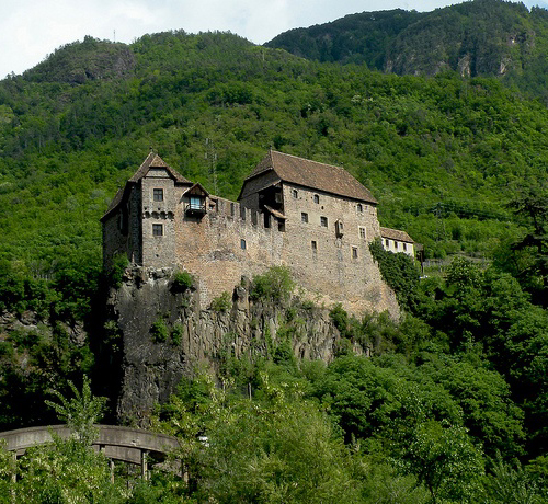 Castel Roncolo, territory of Ritten, near the city of Bolzano in South Tyrol, Italy. - www.castlesandmanorhouses.com