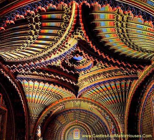 Peacock Room, Castello di Sammezzano in Reggello, Tuscany, Italy - www.castlesandmanorhouses.com