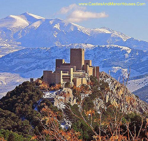 Saint Catalina's Castle (Castillo de Santa Catalina), Cerro de Santa Catalina, overlooking the city of Jaén, Andalusia, Spain - www.castlesandmanorhouses.com