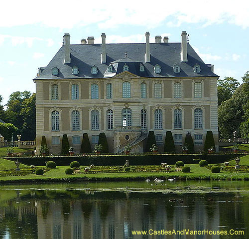 The Château de Vendeuvre, Vendeuvre, near to Lisieux in Normandy, France - www.castlesandmanorhouses.com