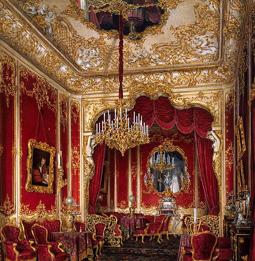 The Boudoir of Empress Maria, Winter Palace, Palace Embankment, 32, St Petersburg, Russia, 190000. - www.castlesandmanorhouses.com