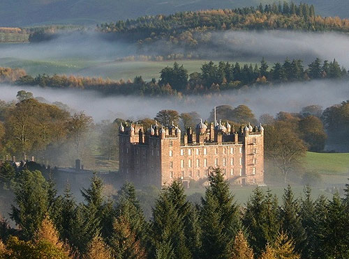 Drumlanrig Castle, Dumfries and Galloway, Scotland - www.castlesandmanorhouses.com