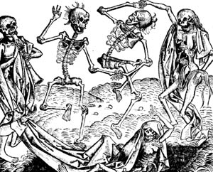 castle life Gluttony in the World the dance of death