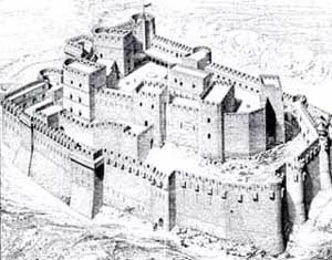 Krak des Chevaliers, a Crusader Castle and possibly the first concentric castle and arguably the best fortress ever built